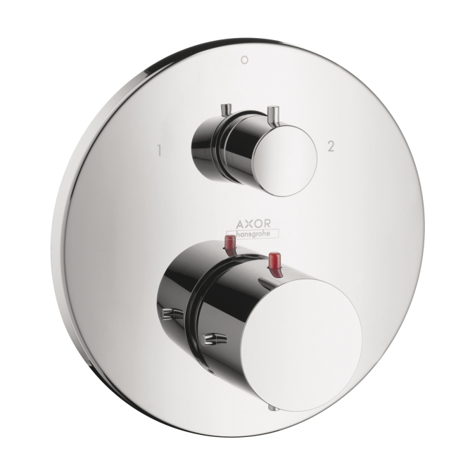 Hansgrohe 10720001 Axor Starck Thermostatic Trim with Volume Control and Diverter - Chrome