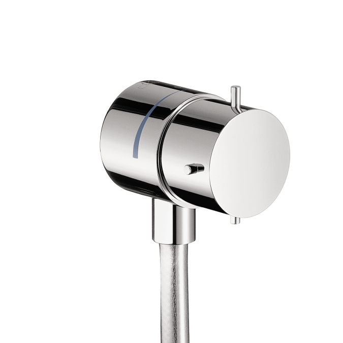 Hansgrohe 10882001 Axor Starck Fix Fit Wall Outlet - Chrome