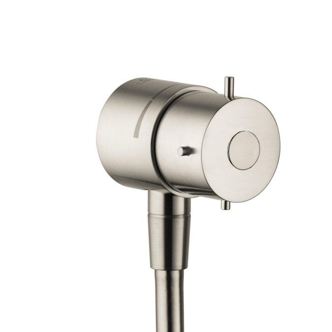 Hansgrohe 10882821 Axor Starck Fix Fit Wall Outlet - Brushed Nickel