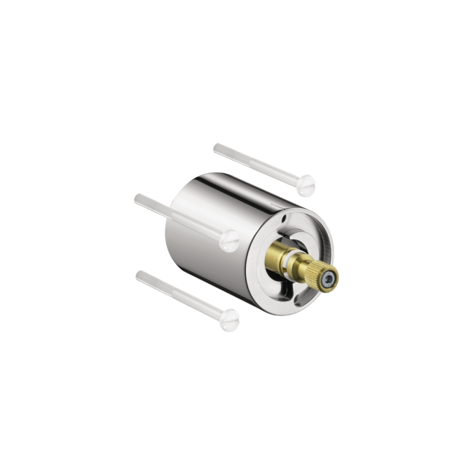 "Hansgrohe 12790000 5"" x 5"" Thermostatic Trim Extension Set - Chrome"
