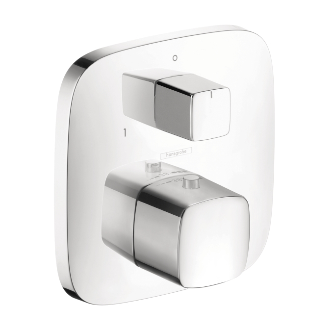 Hansgrohe 15771001 Puravida Thermostatic Trim with Volume Control and Diverter - Chrome