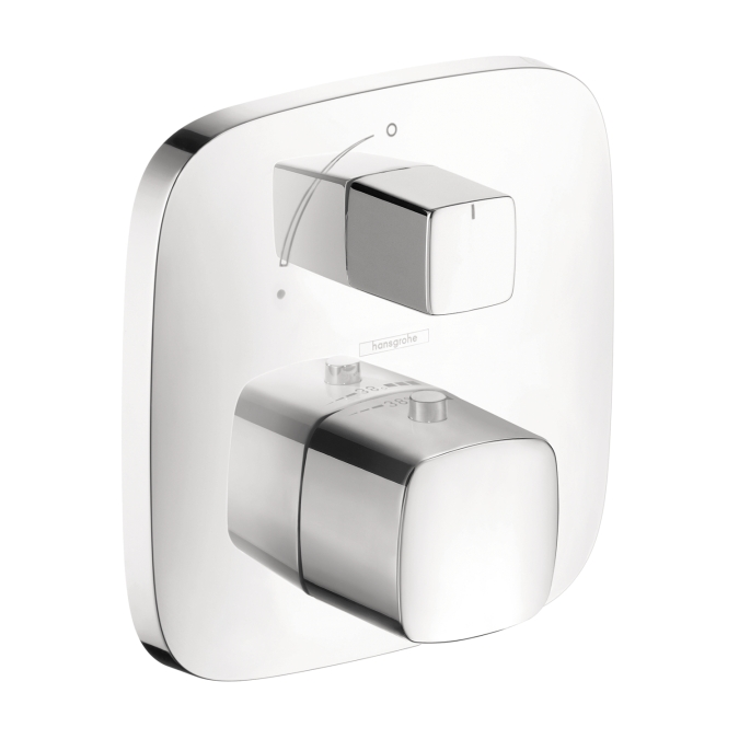 Hansgrohe 15775001 Puravida Thermostatic Trim with Volume Control - Chrome