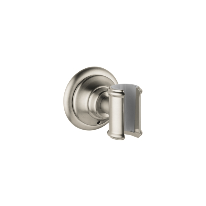Hansgrohe 16325820 Axor Montreux Porter Handshower Holder - Brushed Nickel