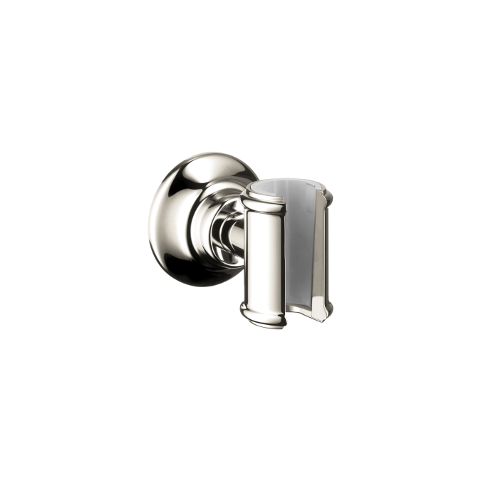 Hansgrohe 16325830 Axor Montreux Porter Handshower Holder - Polished Nickel