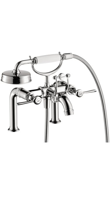 Hansgrohe 16552001 Axor Montreux Rim Mounted Tub Filler with Lever Handle - Chrome
