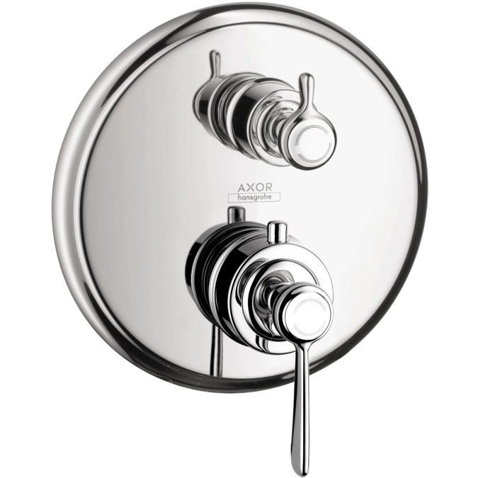 Hansgrohe 16801001 Axor Montreux Thermostatic Trim with Volume Control - Chrome