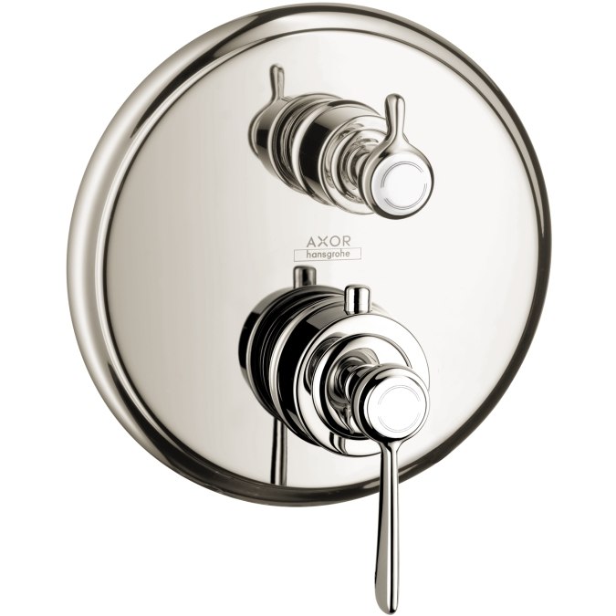 Hansgrohe 16801831 Axor Montreux Thermostatic Trim with Volume Control - Polished Nickel