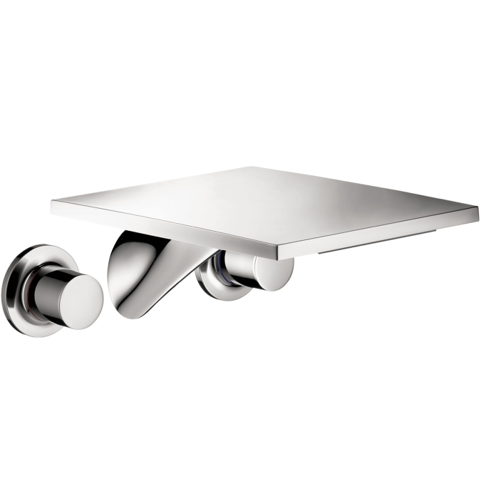Hansgrohe 18115001 Axor Massaud Wall Mounted Widespread Trim Faucet - Chrome