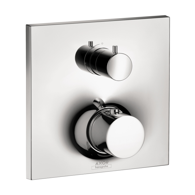 Hansgrohe 18745001 Axor Massaud Thermostatic Trim with Volume Control - Chrome