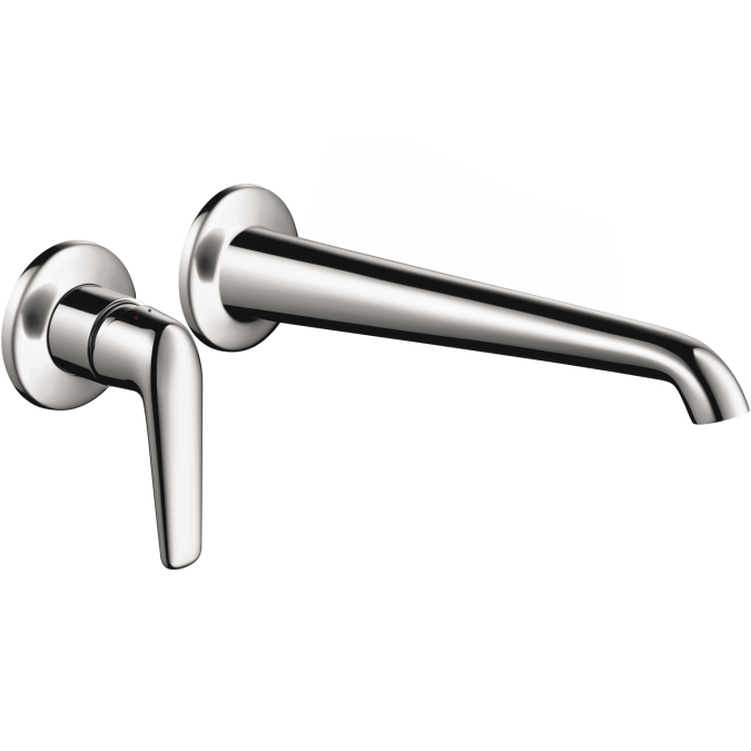 Hansgrohe 19125001 Axor Bouroullec Wall Mounted Single Lever Faucet Trim - Chrome