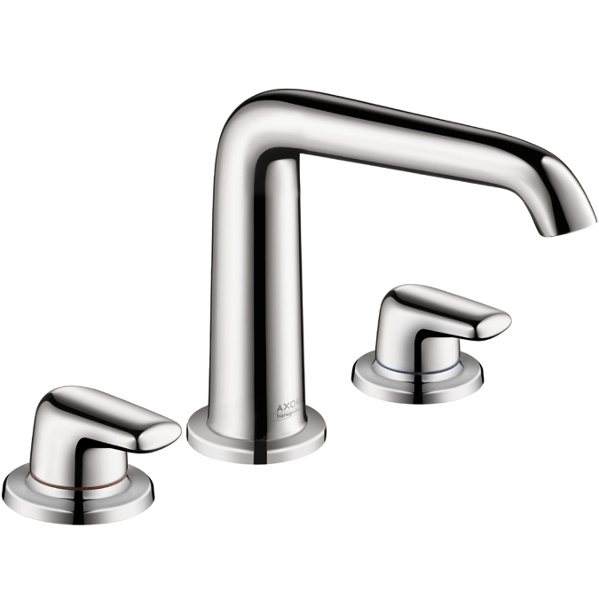 Hansgrohe 19155001 Axor Bouroullec 3 Hole Faucet with Lever Handle - Chrome