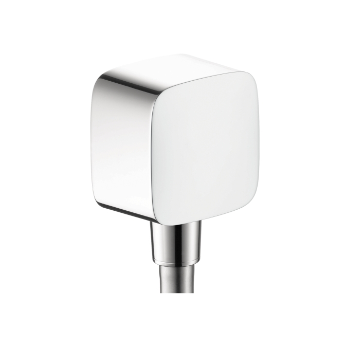 Hansgrohe 27414001 Wall Outlet with Check Valves - Chrome