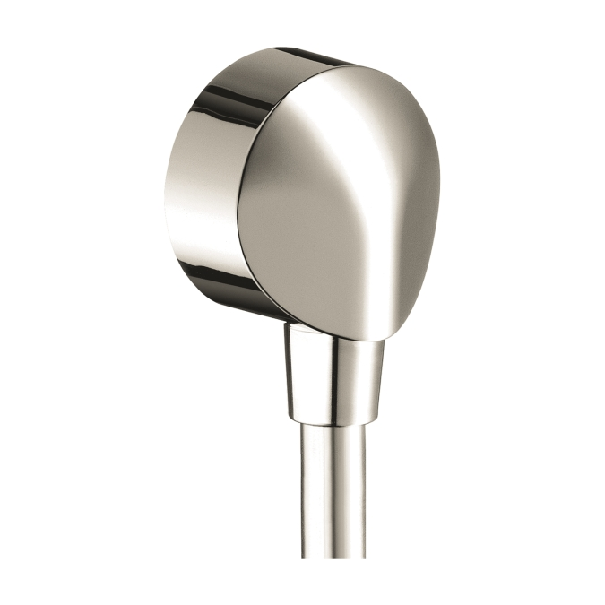 Hansgrohe 27458833 Wall Outlet with Check Valve - Polished Nickel
