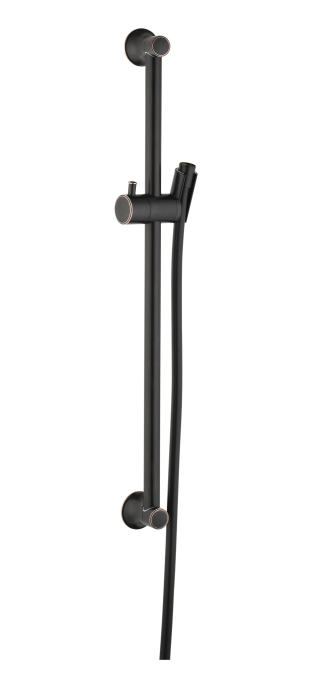 "Hansgrohe 27617920 24"" Unica C Wallbar - Rubbed Bronze"