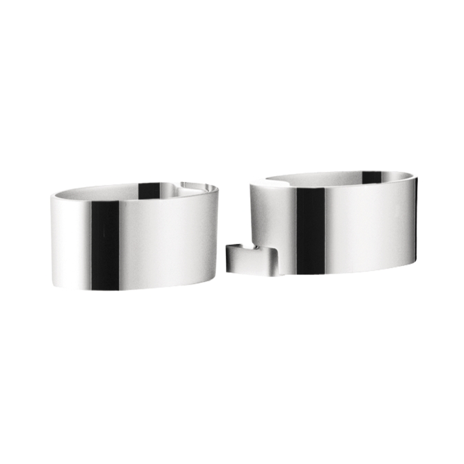 Hansgrohe 28698000 Raindance Cassetta Double Soap Dish Holder - Chrome