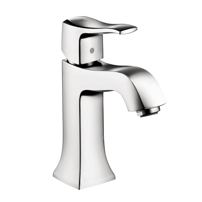 Hansgrohe 31077001 Metris C Single Hole Faucet without Pop-up - Chrome