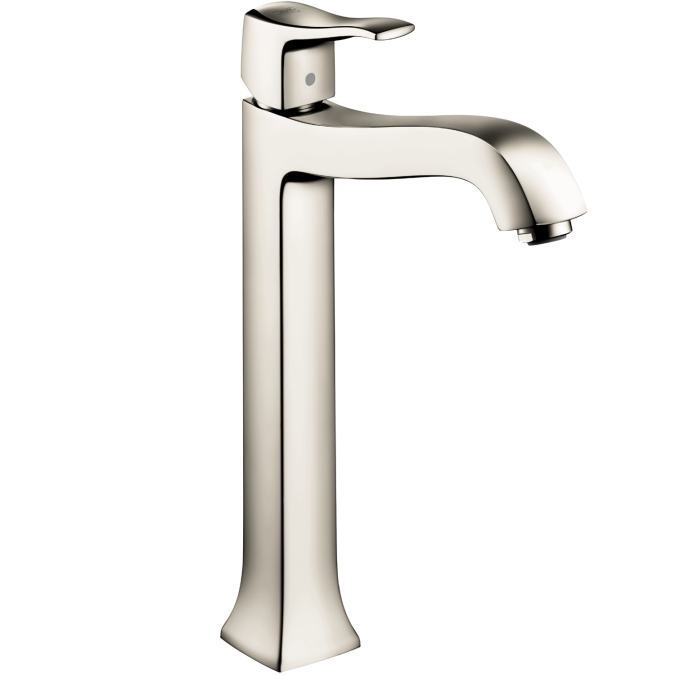 Hansgrohe 31078831 Metris C Tall Single Hole Faucet - Polished Nickel