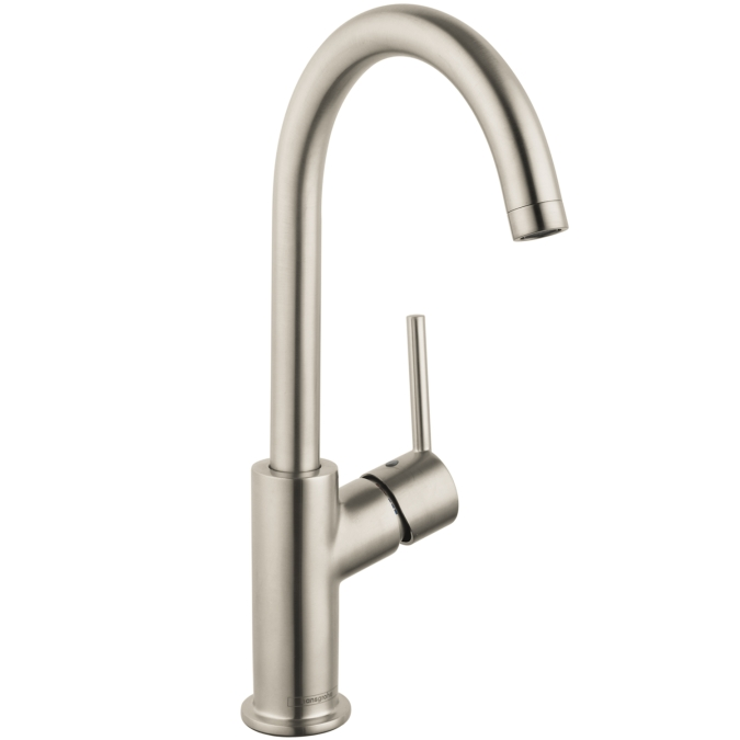 Hansgrohe 32082821 Talis S Single Hole Faucet - Brushed Nickel