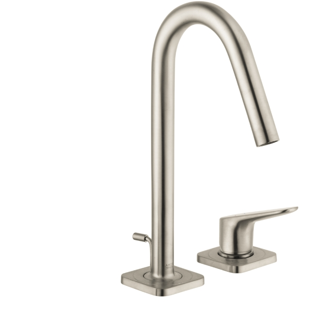 Hansgrohe · Hansgrohe 34132821 Axor Citterio M Single Handle 2 Hole Faucet    Brushed Nickel