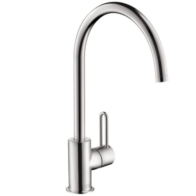 Hansgrohe 38030001 Axor Uno High Spout Single Hole Faucet - Chrome