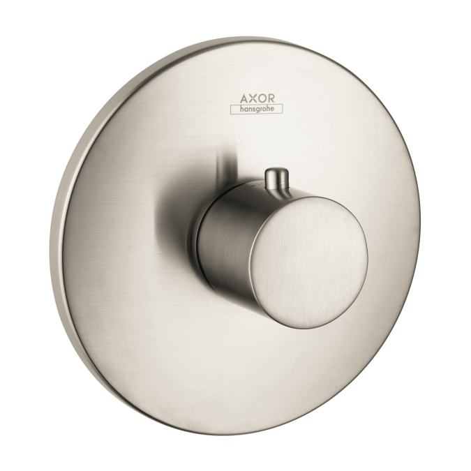 Hansgrohe 38715821 Axor Uno Thermostatic Trim - Brushed Nickel