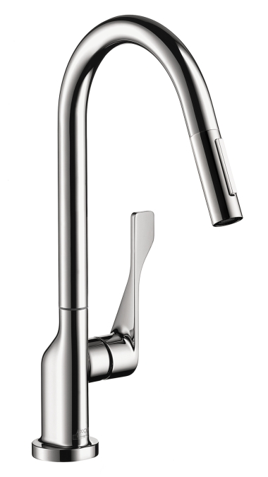 Hansgrohe 39835001 Axor Citterio 2 Spray HighArc Pull-down Kitchen Faucet - Chrome