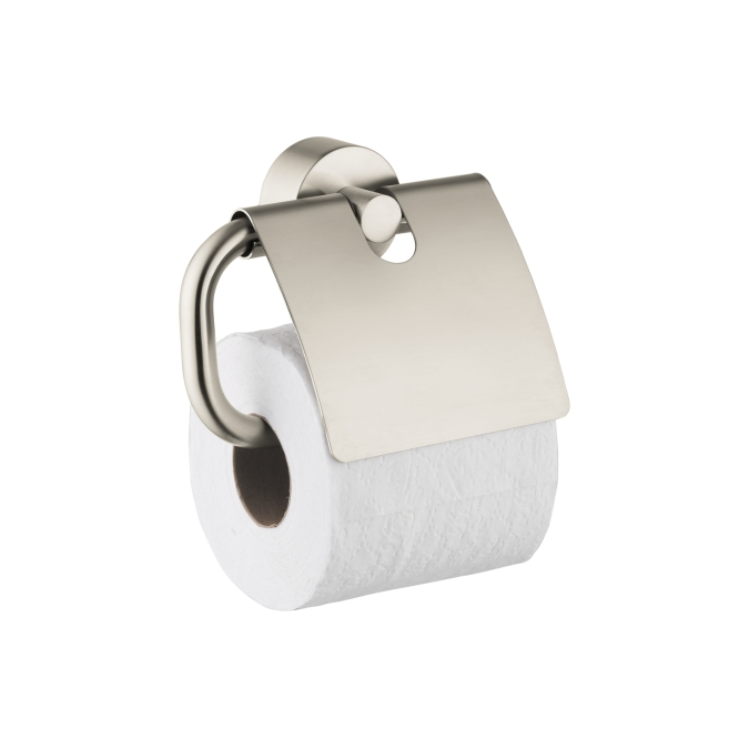 Hansgrohe 41538820 Axor Uno Toilet Paper Holder - Brushed Nickel