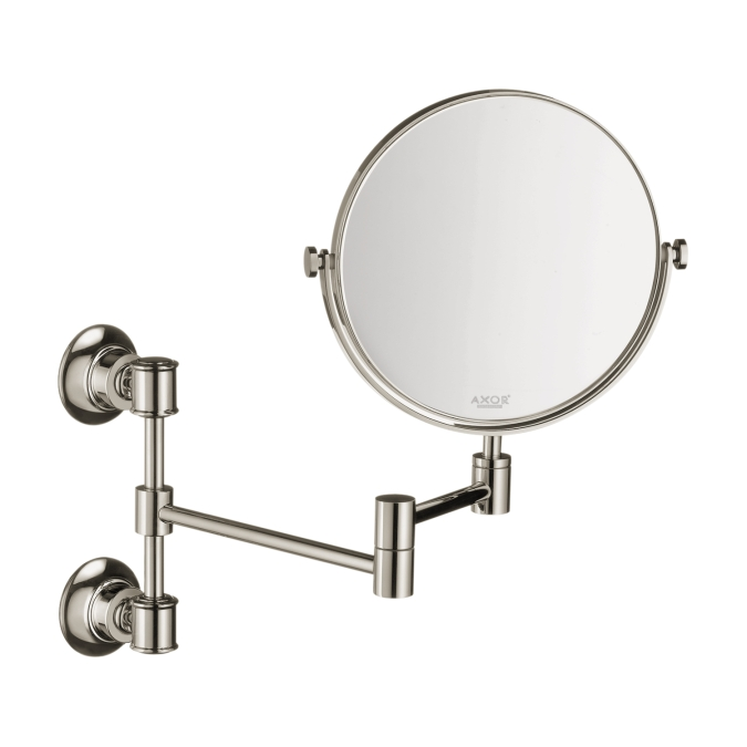 Hansgrohe 42090830 Axor Montreux Pull-out Shaving Mirror - Polished Nickel