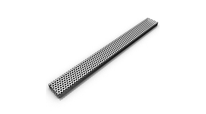 Infinity Drain FTDG 6548 SS- FTDG 65 Series 48 Inch Drain - Satin Stainless