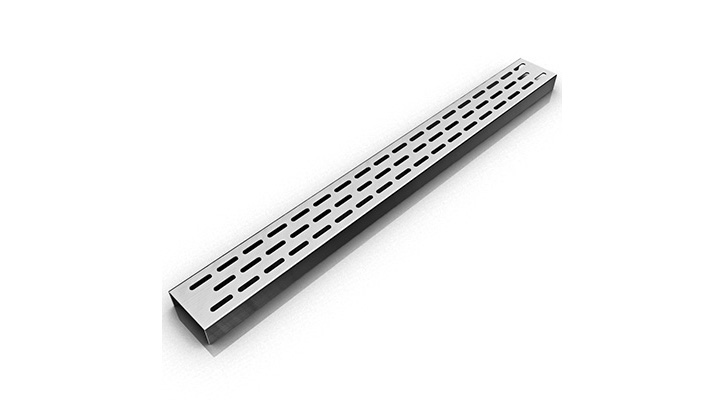 Infinity Drain FTED 6524 SS- FTED 65 Series 24 Inch Drain - Satin Stainless