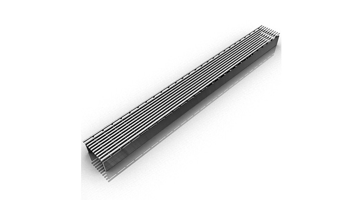 Infinity Drain SAG 6596 SS- 96 Inch SAG 65 Series Drain - Satin Stainless
