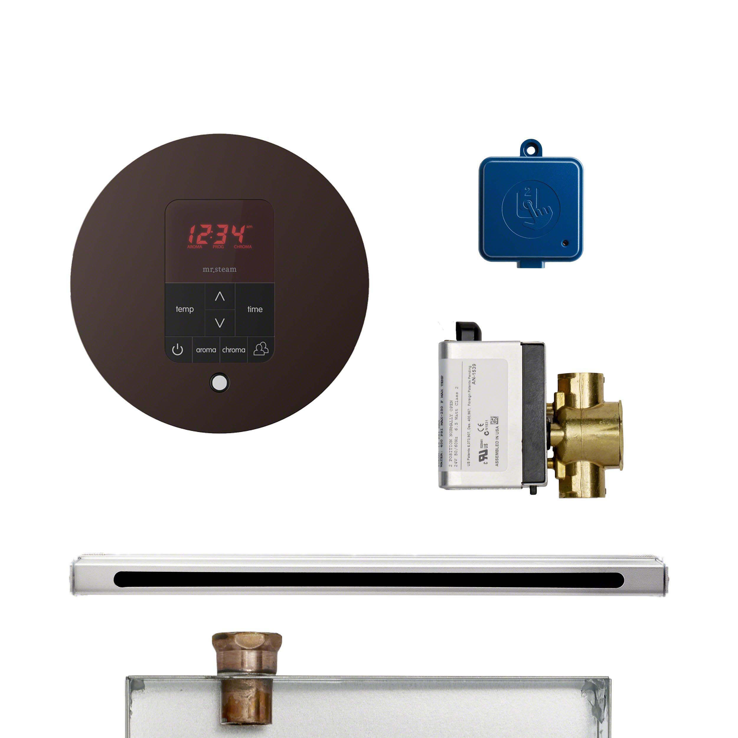 Mr Steam BUTLERL1RORB Butler Linear Package Round Oil-Rubbed Bronze
