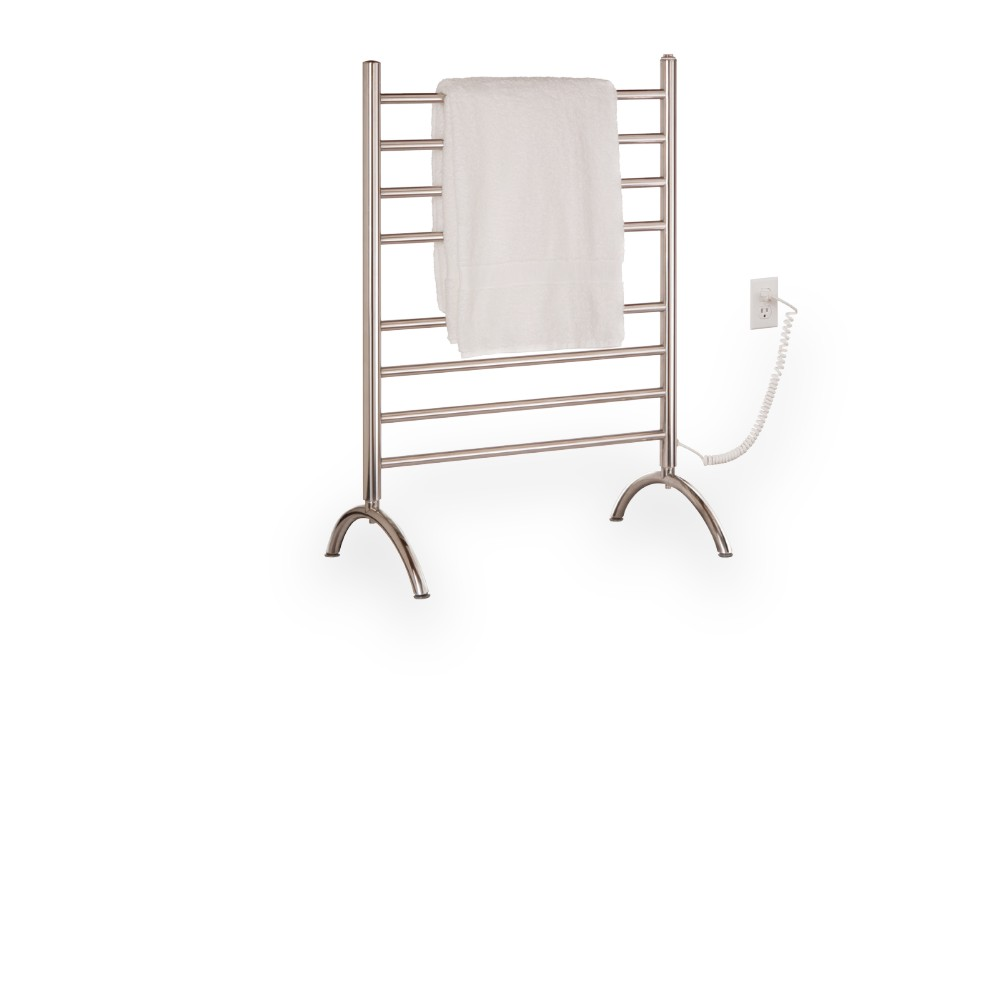 Myson FPRL08 8 Bar Pearl Floormount Electric Towel Warmer