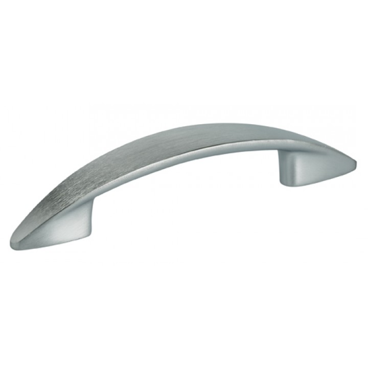 "Omnia 9406/96 Cabinet Pull 3-1/2"" - Satin Chrome Plated"