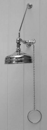 Outdoor Shower WMPC-150-12-6 Wall Mount Pull Chain Shower