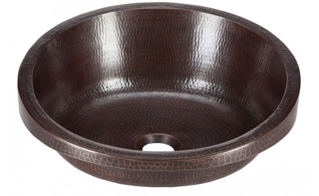 Thompson Traders RSDW-BC Modigliani Handcrafted Black Copper Bath Sink